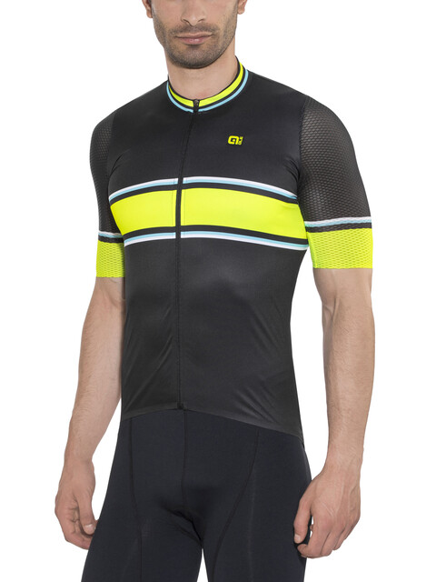 Alé Cycling PRR 2.0 Speed Fondo Kortärmad cykeltröja Herr gul/svart